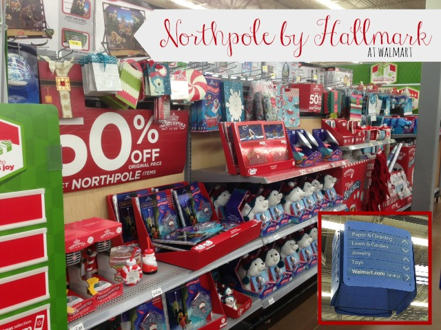 Walmart's Northpole by Hallmark gifts