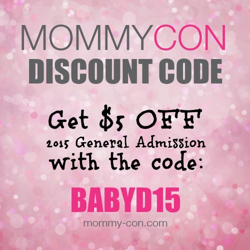MommyCon discount code