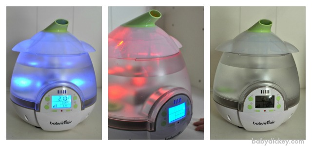digital humidifier and diffuser