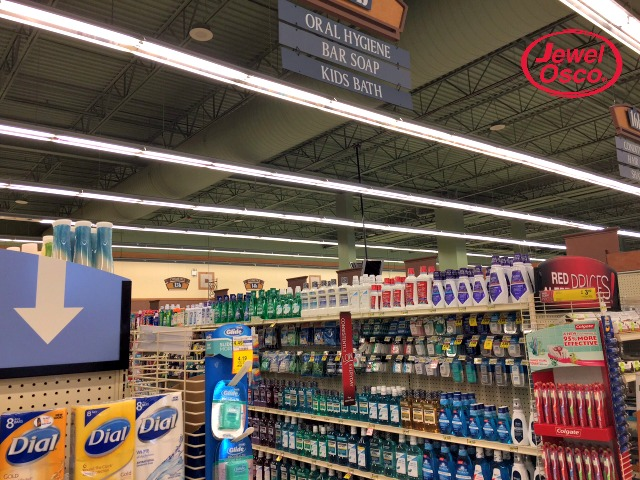 Home products at Jewel-Osco
