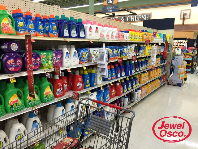 Jewel-Osco cleaning products