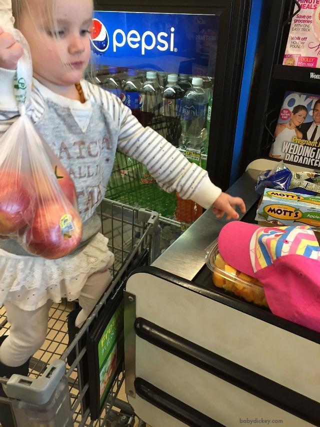 Shopping at Jewel Osco