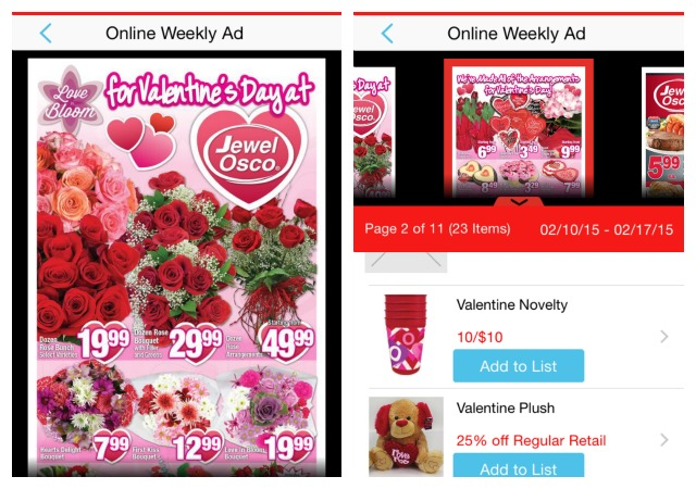 MyMixx Jewel Osco Valentine's coupons