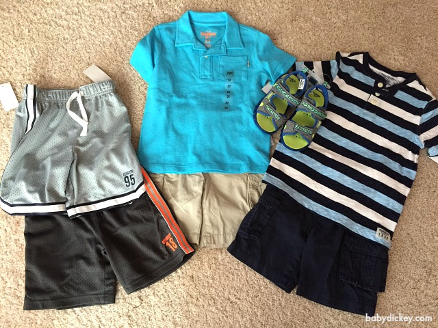 OshKosh B'Gosh boys spring clothes