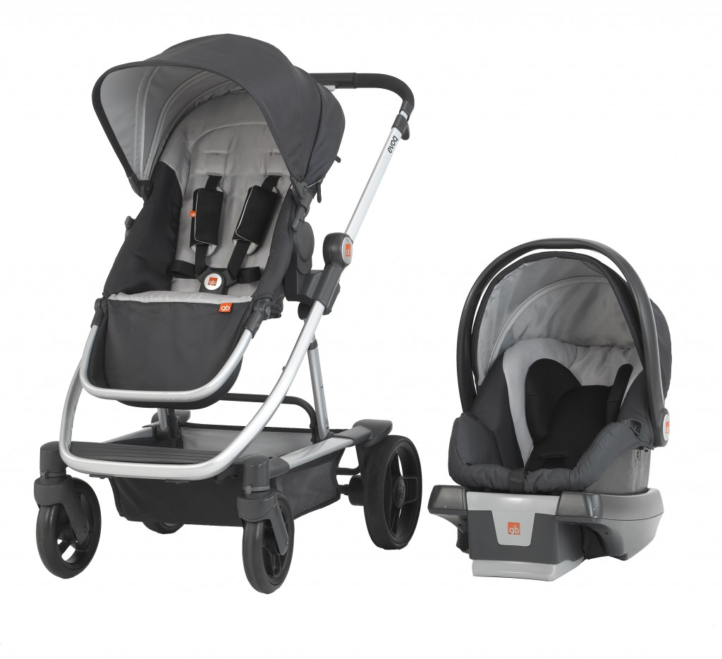 4 in 1 gb evoq stroller travel system baby dickey. Black Bedroom Furniture Sets. Home Design Ideas