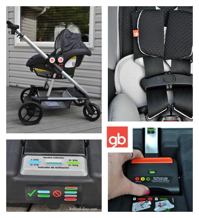 gb Evoq with car seat