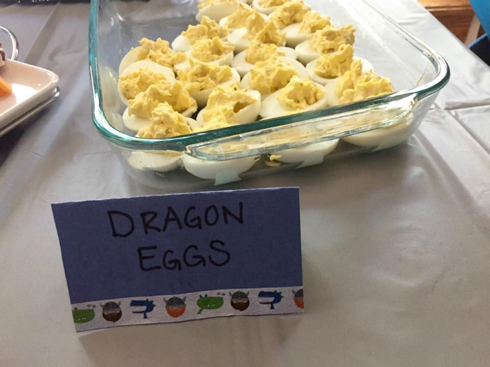 dragon eggs viking food