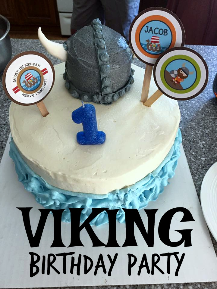 viking bday party