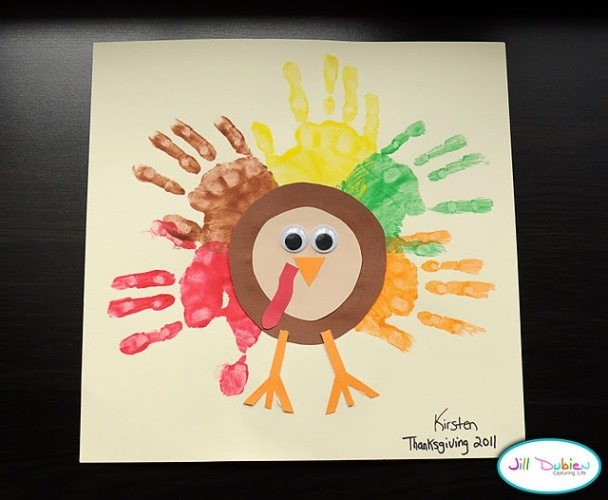 Thanksgiving Craft For Infants Crafting