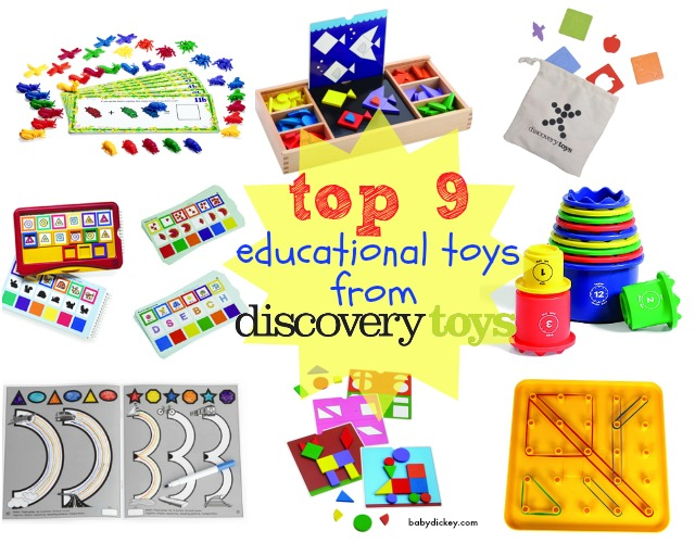 Top 9 educational toys from Discovery Toys - Baby Dickey